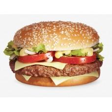 """Бутерброд """"С котлетой и сыром"""""""