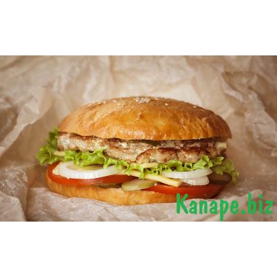 Бутерброд  с куриной отбивной