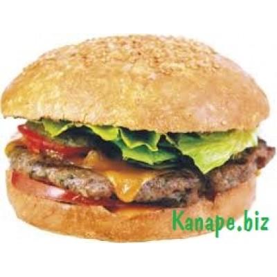Бутерброд с рубленой телятиной и сыром