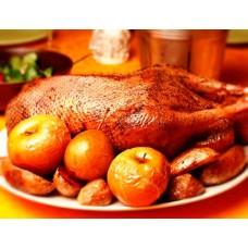 Рождественский гусь (либо утка)