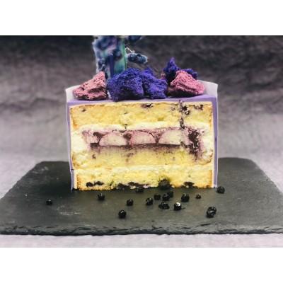 Десерт черничный с лавандою