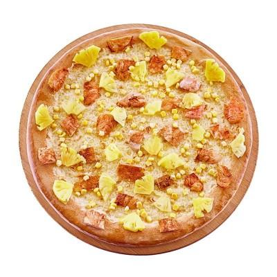 """Пицца """"Гавайи"""" с кукурузой 40 см."""