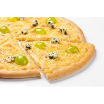 """Пицца """"сырная"""" с виноградом 30 см."""