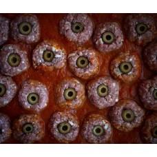 Варенные глаза в крови на Хэллоуин