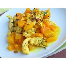 Салат Курица с персиком и имбирём