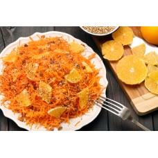 Салат с морковью и цитрусом