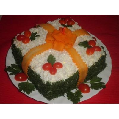 """Салат """"Подарок"""" №2"""